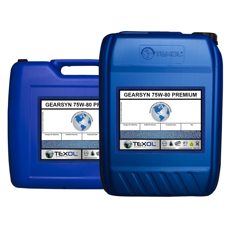 Gearsyn 75W-80 Premium Otomatik ve Düz Şanzıman Yağları