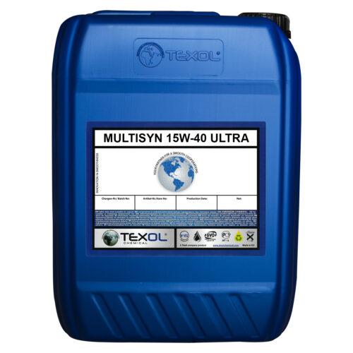 Multisyn 15W-40 Ultra Motor Yağları